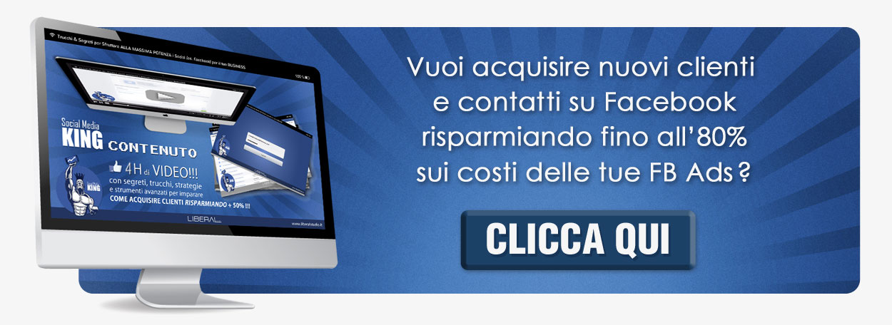 video corso facebook ads marketing